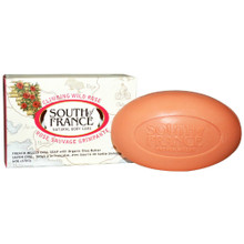 Bar Soap Oval Climbing Wild Rose 6 OZ By South Of France