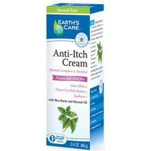 Earth's Care Anti-Itch Cream 2.4 oz