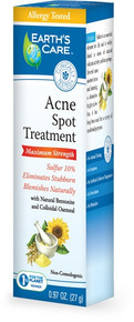 Earth's Care Acne Spot Treatment-10% Sulfur 0.97 oz