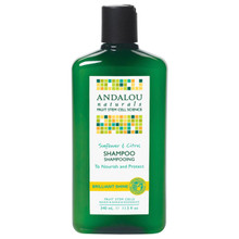Andalou Naturals Sunflower & Citrus Brilliant Shine Shampoo 11.5 fl oz (340 ml)