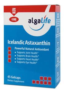 Icelandic Astaxanthin 4mg 45 CAPSULE By Algalife