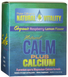 Calm Plus Cal Raspberry/Lemon Packet Box 30 Packets  From Natural Vitality/Peter Gillham'S