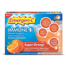 Emer'gen-C Immune +  Super Orange 30 CT From ALACER