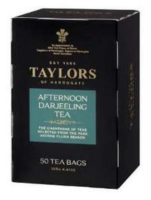 Afternoon Darjeeling, 6 of 50 BAG, Taylors Of Harrogate