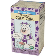 Organic Tea Cold Care for Kids  From AFG