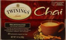 Chai, Decaf, 6 of 20 BAG, Twinings