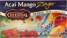 Acai Mango Zinger, 6 of 20 BAG, Celestial Seasonings