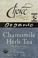 Chamomile, 6 of 16 BAG, Choice Organic Teas