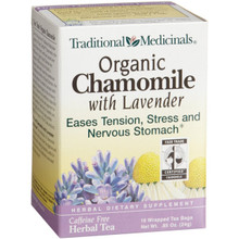 Chamomile w/Lavender, 6 of 16 BAG, Traditional Medicinals