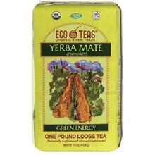 Loose, Yerba Mate, Caffeinated, 6 of 1 LB, Eco Teas