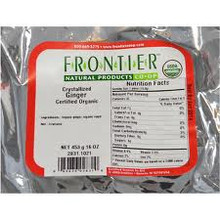 Crystallized Ginger, 1 LB, Frontier Natural Products
