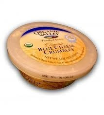 Blue Cheese Crumbles, 12 of 4 OZ, Organic Valley