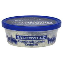 Gorgonzola Crumbles, 12 of 4 OZ, Salemville