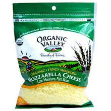 Mozzarella, Shrd, Part Skim, 12 of 6 OZ, Organic Valley