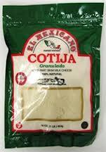 Cotija, Grated, 12 of 16 OZ, El Mexicano