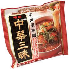 Myojo Chukazanmai Soy Sauce Flavor 3.55 oz  From Myojo