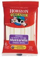 Mozzarella Stick, 12 of 6 OZ, Horizon