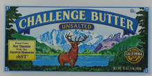 Butter, Unsalted, 12 of 1 LB, Challenge Dairy Products