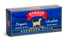 European Style, Sweet, 15 of 1 LB, Straus Family Creamery