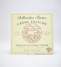 Creme Fraiche, 8 of 7.5 OZ, Bellwether Farms