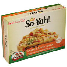 So-Yah! Sesame Ginger Sauce Tofu Shirataki Fettuccine 10 oz  From House Foods