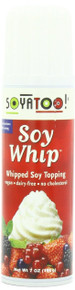 Soy Whip Topping, 12 of 7 OZ, Soyatoo!