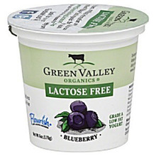 Blueberry, 12 of 6 OZ, Green Valley Organics