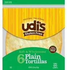 Plain, 9 inch, 8 count, 10 of 11.2 OZ, Udi'S Gluten Free