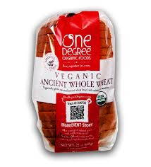 Ancient Whole Wheat, 8 of 22 OZ, One Degree Organic Foods