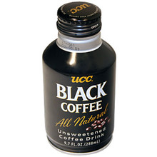UCC Black Coffee Can 9.7 oz  From UCC