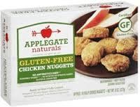Chicken Nuggets, GF, 12 of 8 OZ, Applegate Farms