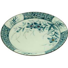Blue Orchard Round Soup Plate  From Venq