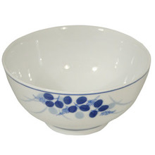 Blue Berries Rice Bowl 4.5'  From B&T Trading