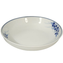 Blue Berries Rice Plate 8'  From B&T Trading