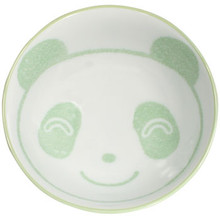 Child's Green Panda Rice Bowl  From Kotobuki