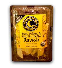Basil, Asiago & Pinenut Pesto, 6 of 8 OZ, Rising Moon Organics