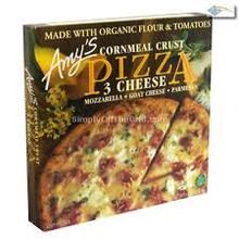 3 Cheese w/Corn Meal Crust, 8 of 14.5 OZ, Amy'S