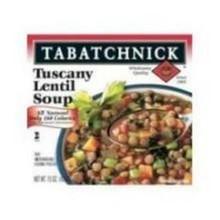 Soup, Lentil, 12 of 15 OZ, Tabatchnick