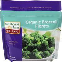Broccoli Florets, 12 of 9 OZ, Earthbound Farm