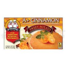 A+ Cinnamon Sweet Potato WG, 6Ct, 12 of 8.4 OZ, De Wafelbakkers
