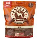 Canine Beef Formula, 3 LB, Primal Pet Foods, Inc.