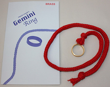 Gemini Ring - Brass