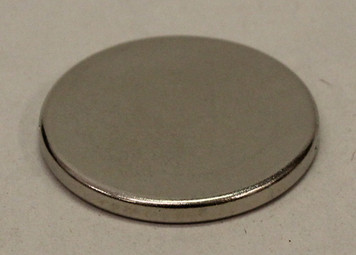 "Super strong Neodymium Magnet 1.00"" x .100"" (2)"