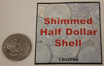 Shimmed Half Dollar, Tails