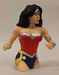 Marvel Wonder Woman Bust Bank