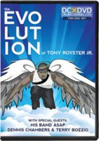 The Evolution of Tony Royster Jr. DVD