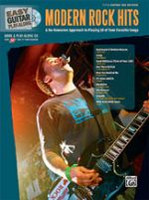 Modern Rock Hits - Easy Guitar Play-Along