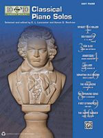 10 for $10 Sheet Music Classical Piano Solos