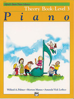 Alfred's Basic Piano Course: French Edition Theory Book 3