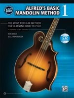 Alfred's Basic Mandolin Method 1 - Book & CD